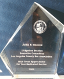 Los Angeles Bar Association Person of the Year John Denove
