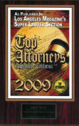 Los Angeles Magazine Super Lawyers Top Attorneys 2009, John D. Rowell