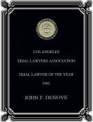 Trial Lawyer of the Year - Denove