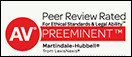 John D. Rowell, attorney rated AV® Preeminent™ 5.0 out of 5
